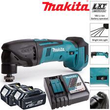 Makita DTM50Z 18V LXT Oscilante Multi Herramienta Con 2 X 5.0Ah Pilas Y Cargador