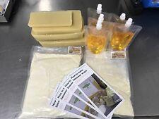 Mega DIY Beeswax Wrap Kit, Gum Rosin Wax Reusable Eco Cover Food Bee Wax Bees