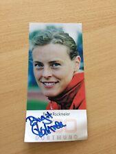 Birgit Rockmeier Autogrammkarte handsigniert