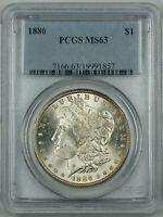 PCGS MS-63 Morgan Silver Dollar BU Coin