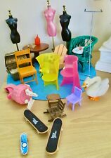 Vintage Doll Furniture And Accessories Lot