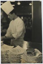 """France, """"Wimpy Bar"""" 1961 Vintage silver print Tirage argentique  20x30  Ci"""