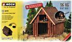 """HO Scale Noch Gmbh & Co 66701 """"Love"""" Barn w/Sound & Figures Kit"""