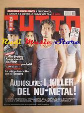 Rivista TUTTO MUSICA 3/2003 Audioslave Ben Harper Queen Capossela Jay-Z  * NO cd