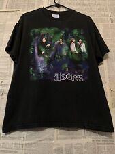 Vtg 90s The Doors Jim Morrison Crystal Ship Rock Band T-shirt