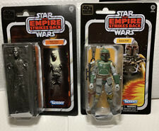"Star Wars Black Series 40th Boba Fett Han Solo Carbonite 6"" Figures ESB IN STOCK"