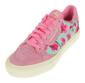 Adidas Women's Continental Vulc Casual Sneaker, Pink/Cherry Blossom