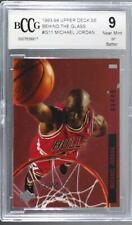 1993-94 Special Edition Behind the Glass Michael Jordan #G11 BCCG Near Mint HOF