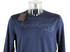 NEW WITH TAGS XL LOUIS VUITTON MEN DAMIER LONG SLEEVE POCKET TEE SHIRT FRAGMENT