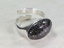 Turmalin-Quarz-Ring, 925 Silber,  Video