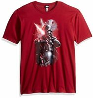 Star Wars Men's Dark Lord Darth Vader Graphic T-Shirt, Cardinal, Size X-Large kZ