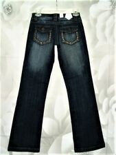 30c116b5b9d TIN HAUL RoSiE To Go Womens BooT DiSTReSSeD Denim JEANS SIZE 24 S