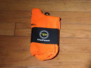 """DeFeet Slipstream Codura Booties Shoe Covers Overshoes 4"""" Cuff NWT Size S/M"""
