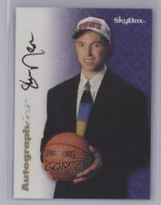 1996-97 Skybox Premium Autographics Black Ink Steve Nash Rookie Auto HOF