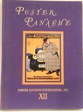 Poster Panache Auction Catalog 1991 PAI-XII Audi Ludwig Hohlwein Rennert