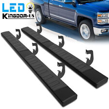 Running Boards For 07 18 Silveradosierra 1500 Doubleextended Cab 6 Step Bars