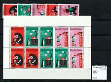 Netherlands 1967 Child Welfare set & mini sheet Sg1043/Ms1048 Mnh