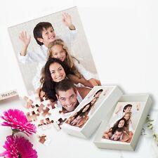 Personalised Photo Jigsaw Puzzle with Customised Box
