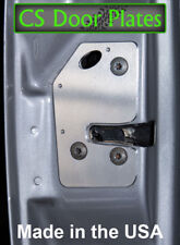 Jeep Cherokee (XJ) 97-01 door latch repair & reinforcement plate pair; L & R