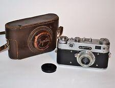 "1959 RARE RUSSIAN USSR ""ZORKI 5"" camera + collapsible INDUSTAR-50 lens (ITEM №9)"