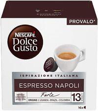 240 Capsule Nescafé Dolce Gusto Espresso NAPOLI Originali caffe nescafe
