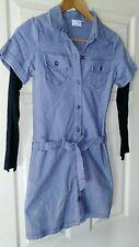 Womens Grey Next SP Shirt Dress. Size 6.