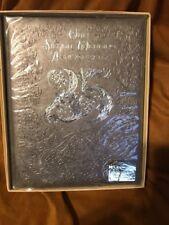 Vintage Hallmark 25th Silver Annivetsary Album Orig Box