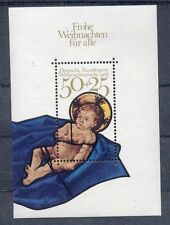 # GERMANIA DEUTSCHLAND - 1978 - Natale Christmas Painting Sheet Stamp MNH
