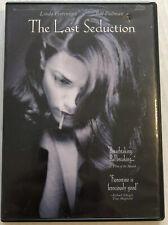 The Last Seduction (DVD, 1994, OOP) Canadian