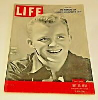 July 30, 1951 LIFE Magazine-Bing Crosby 1950s Advertising ads add  FREE SHIP 7