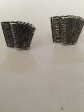 Accordian PP-M20 Fine English Pewter Cufflinks