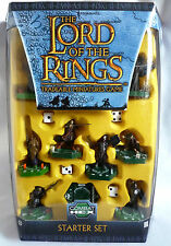 LORD OF THE RINGS TRADEABLE MINATURES GAME / COMBAT HEX / STARTER SET