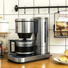 BESTEK 10 Cup Drip Coffee Maker in Stainless Steel, Programmable Aroma Control