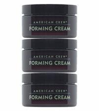 American Crew Forming Cream für mittleren Halt und mittleren Glanz 3 x 85 g