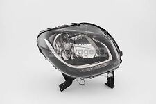 Smart ForTwo 15-17 Black LED DRL Headlight Headlamp Right Driver O/S OEM Valeo