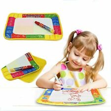 New 2-5Year Baby Kid Boys Girl Doodle Water Drawing Toys Mat Pen Education Mat