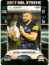 Penrith Panthers 2017 Season NRL & Rugby League Trading Cards
