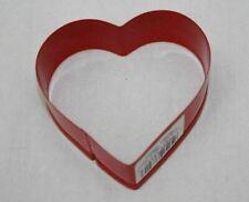"Cookie Cutter Red Heart 3"" Metal Wilton"