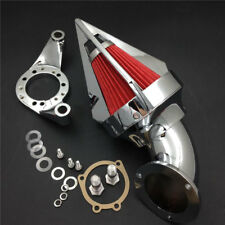 Motorcycle Cone Spike Air Cleaner intake for Harley CV Carburetor Delph V-Twin