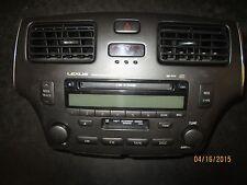 **02 03 04 LEXUS ES300,ES330 RADIO CD CASSETTE OEM #86120-33511 (XX-1032 )*