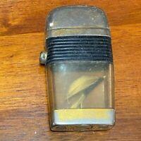 Vintage Black Band Lighter Fly Fish Hook Inside Made in the USA