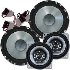 Hifonics Warrior 3 Wege Lautsprecher Boxen Set passend für VW GOLF III