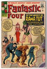 Marvel Comics VG-  FANTASTIC FOUR  #19  RAMA TUT