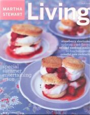 MARTHA STEWART LIVING ~ July 2003 ~ Summer Entertaining