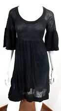 FRENCH CONNECTION 3/4 SLEEVE SWEATER DRESS SIZE XS, BLACK