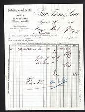 """IZIEUX (42) USINE de LACETS pour CHAUSSURES & MERCERIE """"SUC Freres & Soeur"""" 1914"""