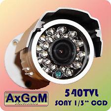 """Bianchi telecamera di sorveglianza - 540 TVL -1/3"""" Sony CCD 23 infrarossi-LED - 20m-ip65"""
