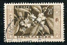 STAMP / TIMBRE DE MADAGASCAR N°331 OBLITERE CAFE
