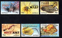 Australia  2014 Things That Sting Complete Set of Stamps P Used Sheet