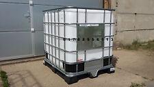Wassertank Regentonne Container 1000L Wasserfass Tank Fass Tonne IBC Pack Kübel